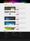 Template: Alienglow - Website Template