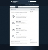 Template: NavyShade - Website Template
