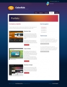 Template: Coloriful - CSS Template