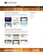 Template: ConceptualWood - HTML Template