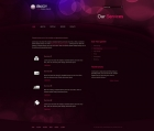 Template: PurpleBubbles - CSS Template