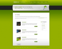 Template: GreenMagic - HTML Template