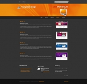 Template: OrangeShine - Website Template