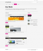 Template: SimpleSite - HTML Template