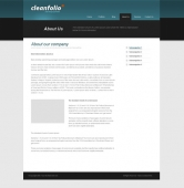 Template: CleanFolio - Website Template