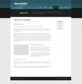 Template: CleanFolio - Website Template