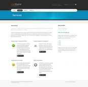Template: Bluezine  - HTML Template