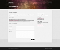 Template: BokehDreams - Website Template