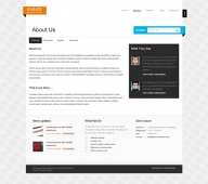 Template: CleanAccordion - HTML Template