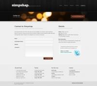 Template: DarkAccordion -  HTML Template