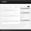 Image for Image for Neutralism - WordPress Theme