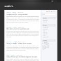 Image for Image for ModernDark - WordPress Template