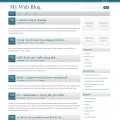 Image for Image for BluenGray - WordPress Theme
