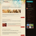 Image for Image for ExpressiveFlowers - WordPress Theme