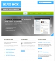 Image for Image for BlueBoxDark -  Website Template