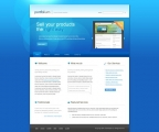Image for Image for BlueSpot - Website Template