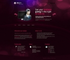 Image for Image for PurpleBubbles - CSS Template