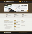 Image for Image for TextureStyle - Website Template
