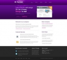Image for Image for FlyViolet - Website Template