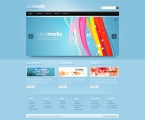 Image for Image for Creatimedia-Cuber - CSS Template