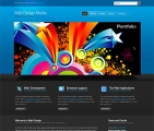 Image for Image for WebDesignMedia-Cuber - HTML Template
