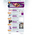 Image for Image for GraffitiBlue - WordPress Template