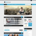 Image for Image for BlueStripes - WordPress Theme