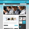 Image for Image for AquaFuse - WordPress Template