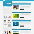 Image for Image for Aqua - Website Template