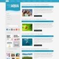 Image for Image for Aqua - Website Template