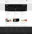 Image for Image for DigitalPrime 3D - HTML Template