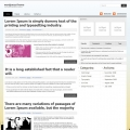 Image for Image for NewsPaperline - WordPress Theme