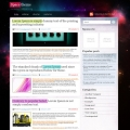 Image for Image for CosmicRays - WordPress Theme